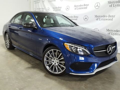 Certified Pre-Owned 2018 Mercedes-Benz C-Class AMG® C 43 4MATIC®