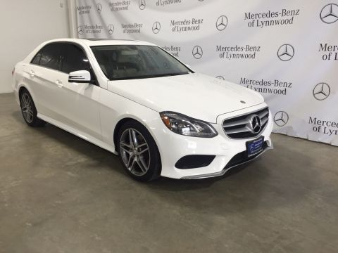 Certified Pre-Owned 2015 Mercedes-Benz E-Class E 350 Sport 4MATIC®