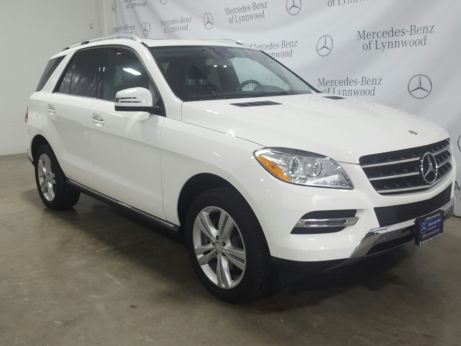 Pre Owned 2015 Mercedes Benz M Class ML 350 4MATIC SUV in Lynnwood