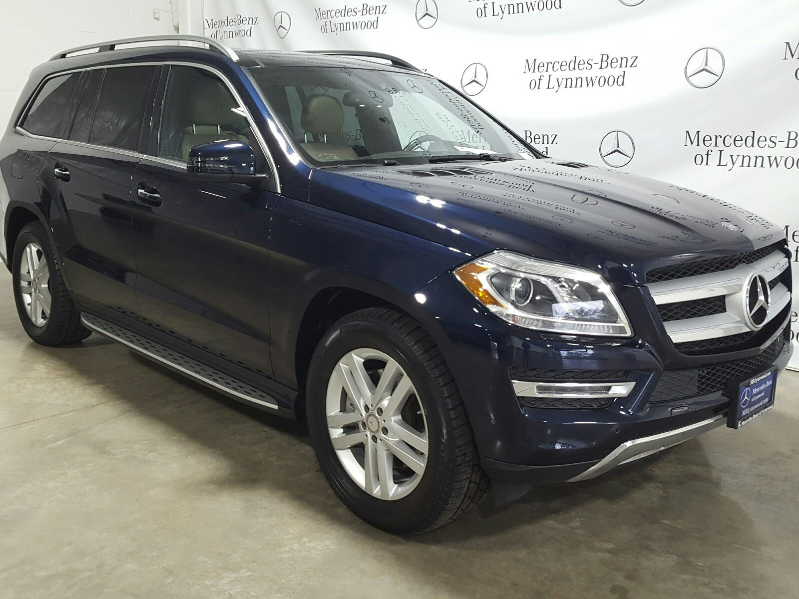 Certified Pre Owned 2016 Mercedes Benz GL GL 350 BlueTEC 4MATIC