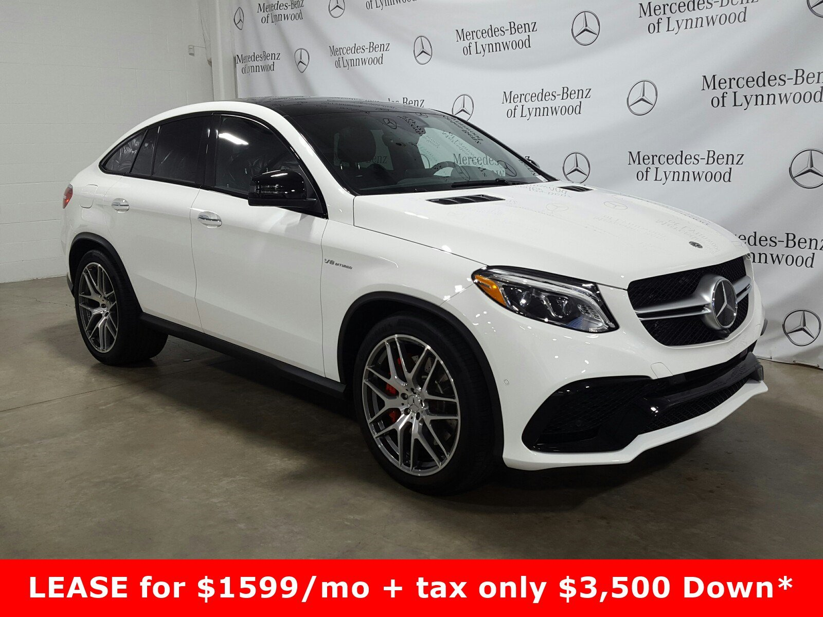 Certified Pre-Owned 2019 Mercedes-Benz GLE AMG® GLE 63 S 4MATIC® Coupe