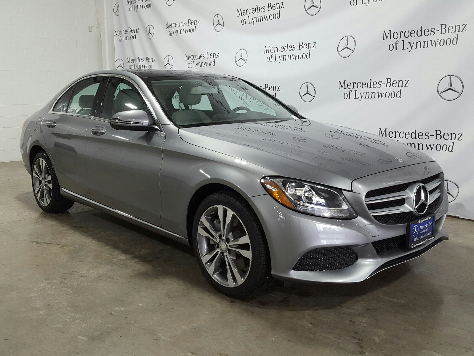 Certified Pre Owned 2016 Mercedes Benz C Class C 300 4MATIC SEDAN