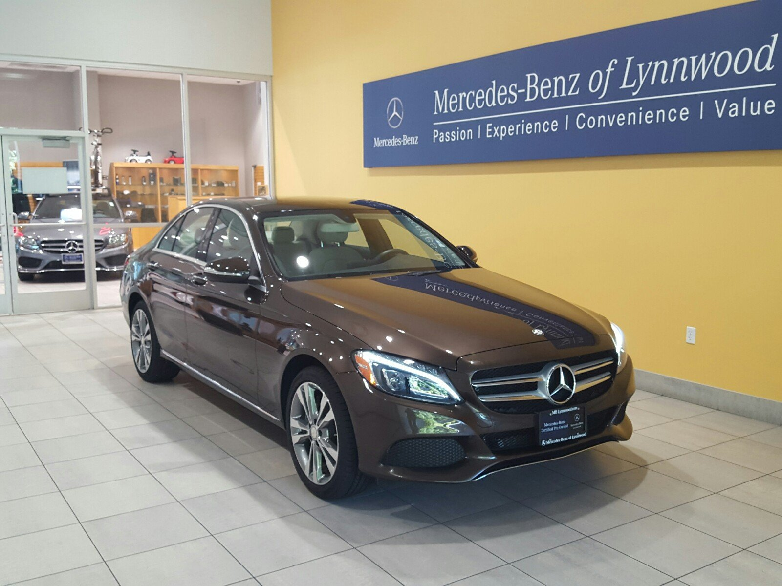 Certified pre owned 2015 mercedes benz c class c 300 for Mercedes benz c class pre owned