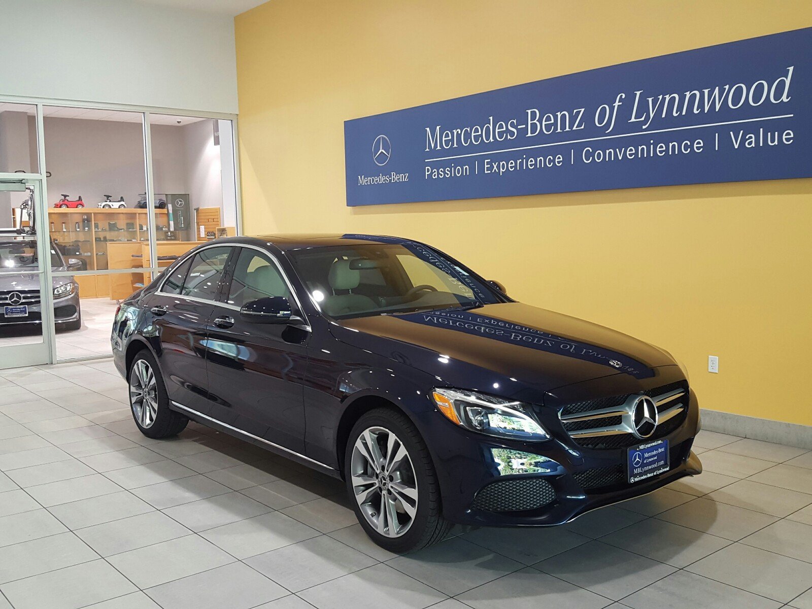 New 2018 mercedes benz c class c 300 4matic sedan in for Mercedes benz cpo special offers
