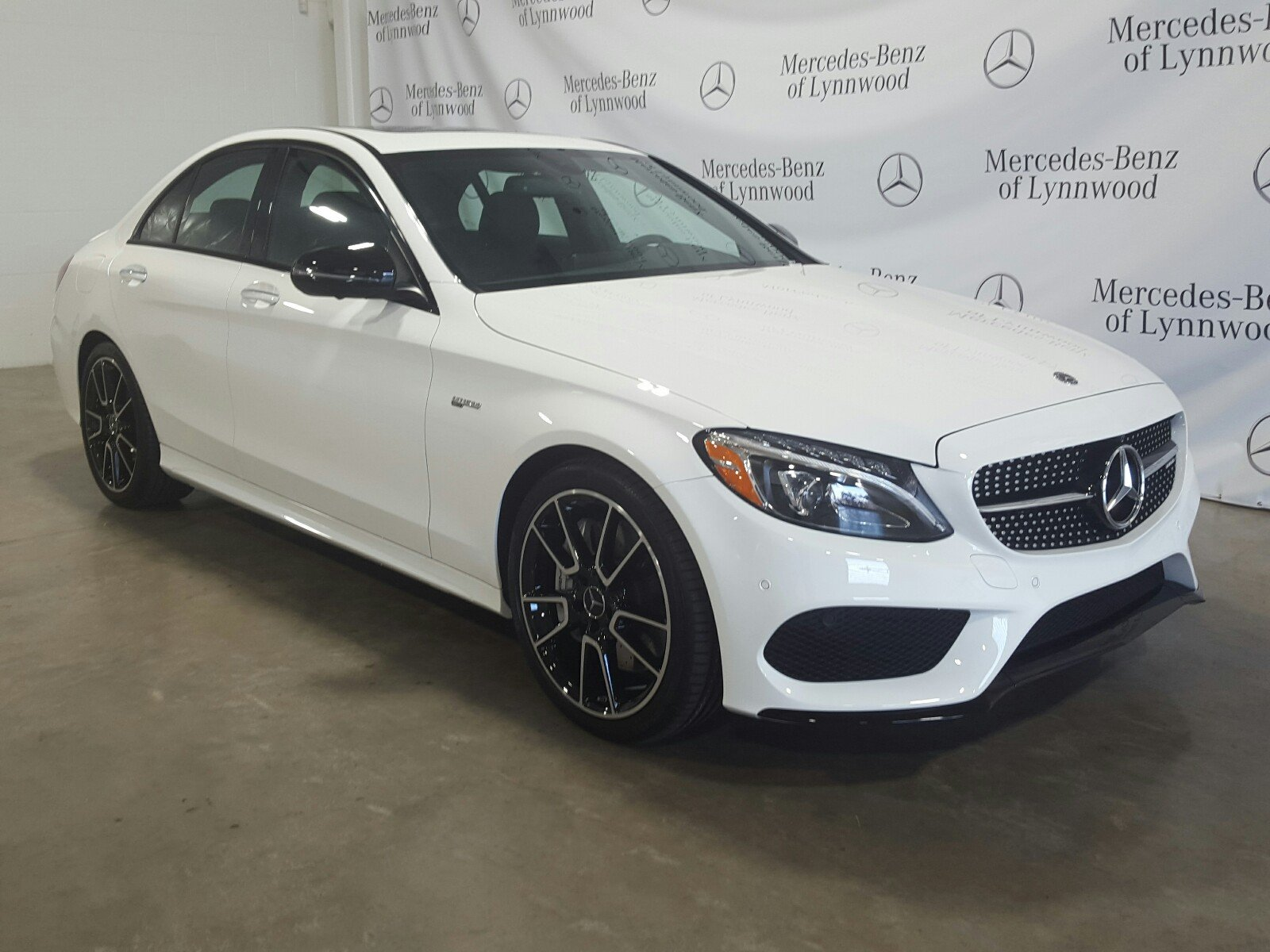 Certified Pre Owned 2018 Mercedes Benz C Class AMG C 43 4MATIC 4dr