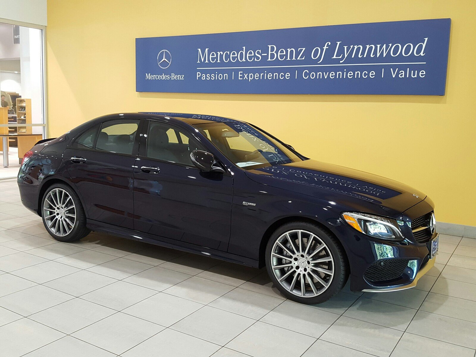 Pre owned 2018 mercedes benz c class amg c 43 4matic for Mercedes benz financial payment address