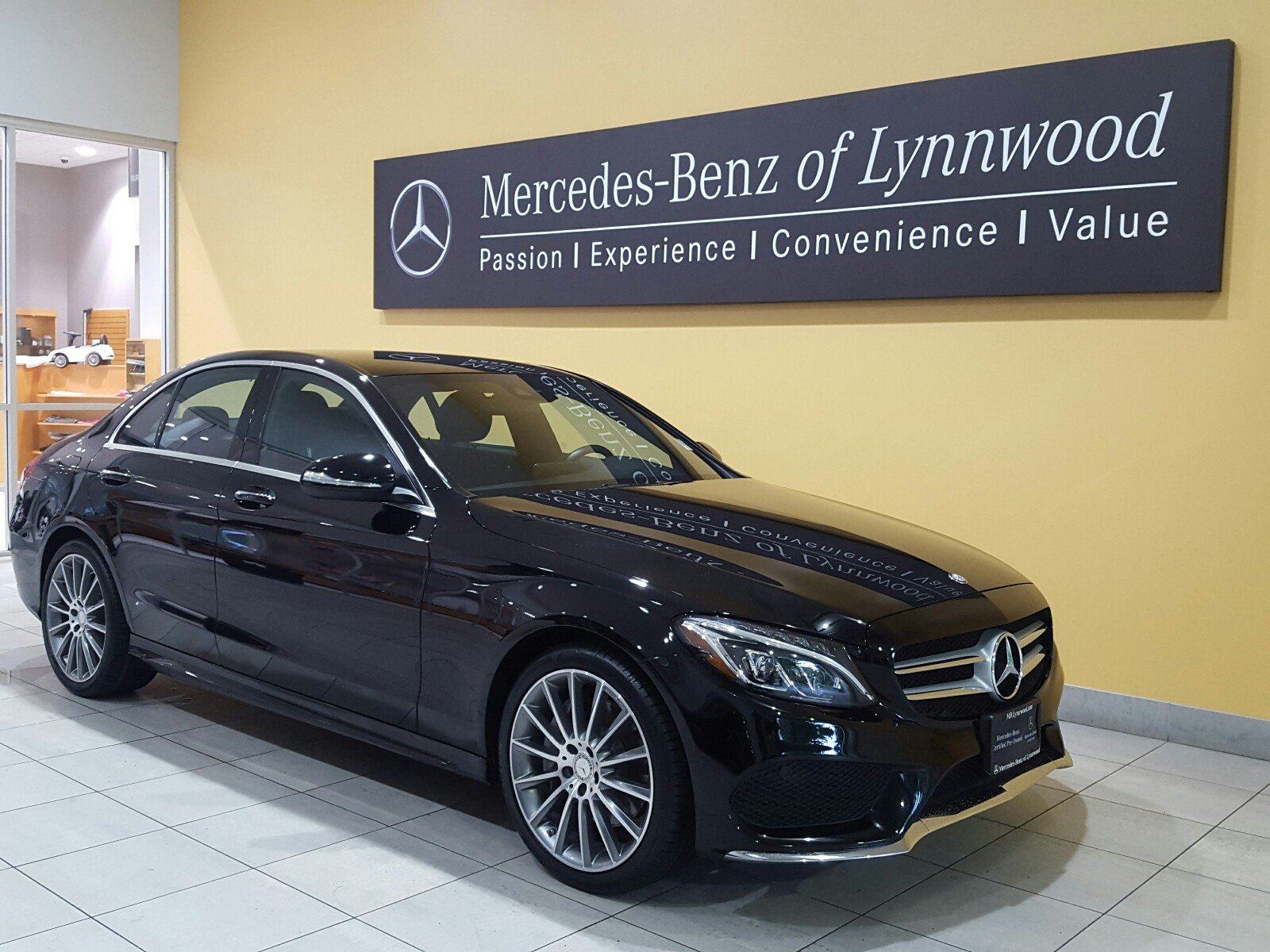 Certified pre owned 2015 mercedes benz c class c 400 for Certified pre owned mercedes benz