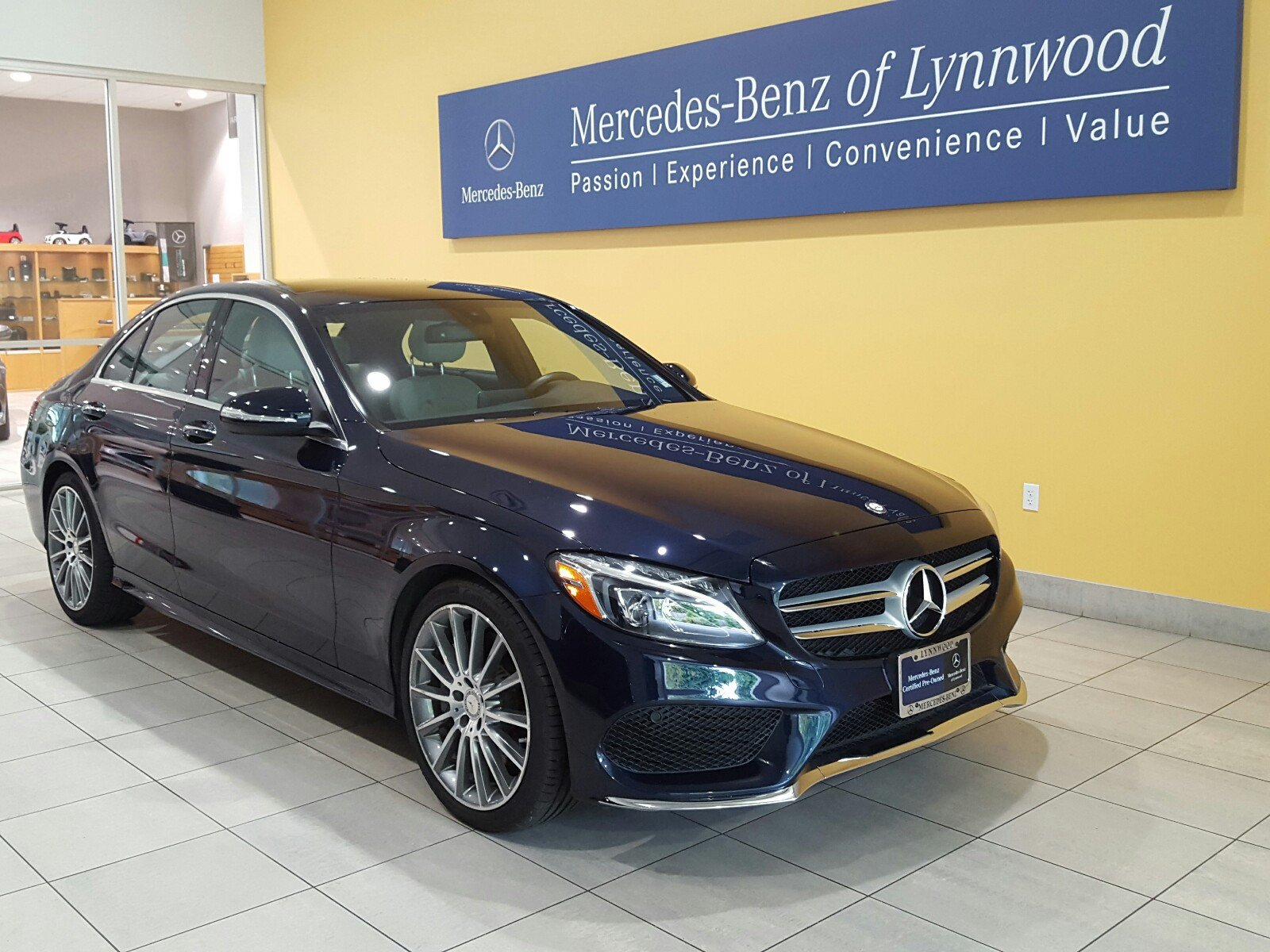 Certified pre owned 2015 mercedes benz c class c 400 for Mercedes benz pre owned vehicles