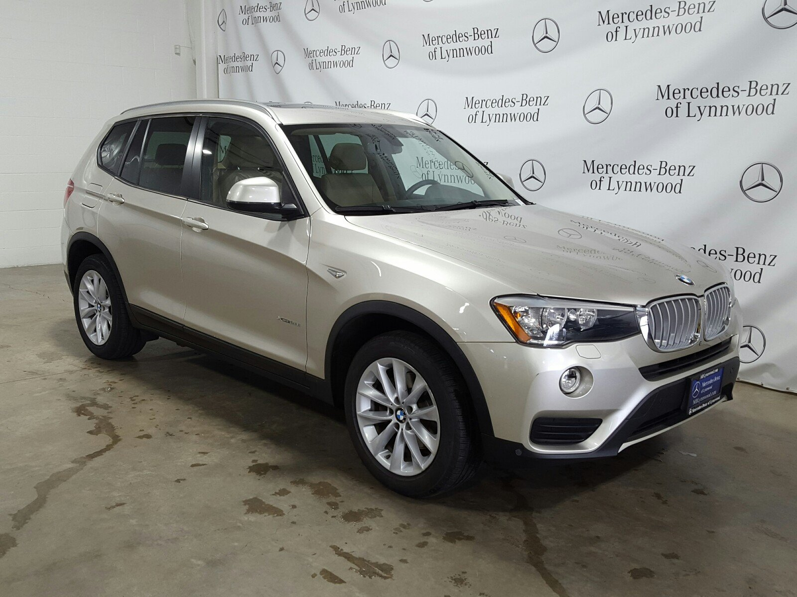 Pre-Owned 2015 BMW X3 X3 xDrive28i AWD