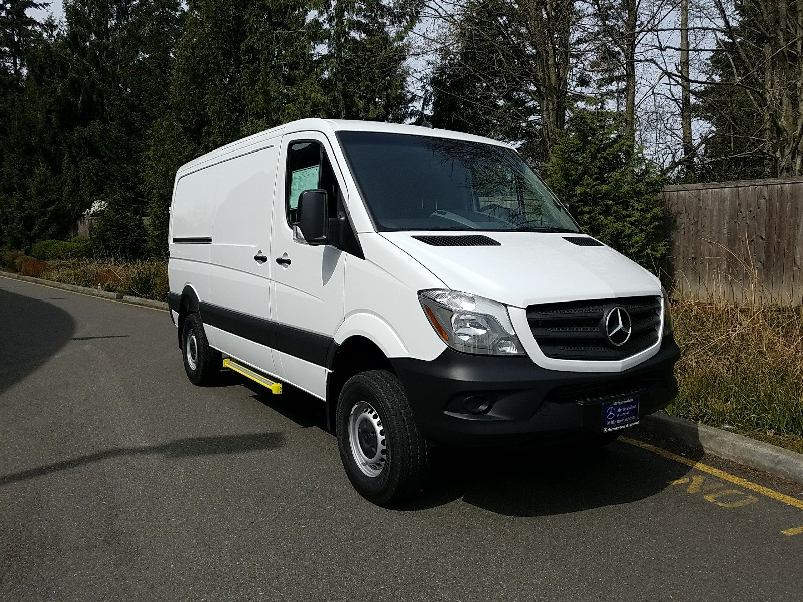 Pre Owned 2016 Mercedes Benz Sprinter Cargo Van In