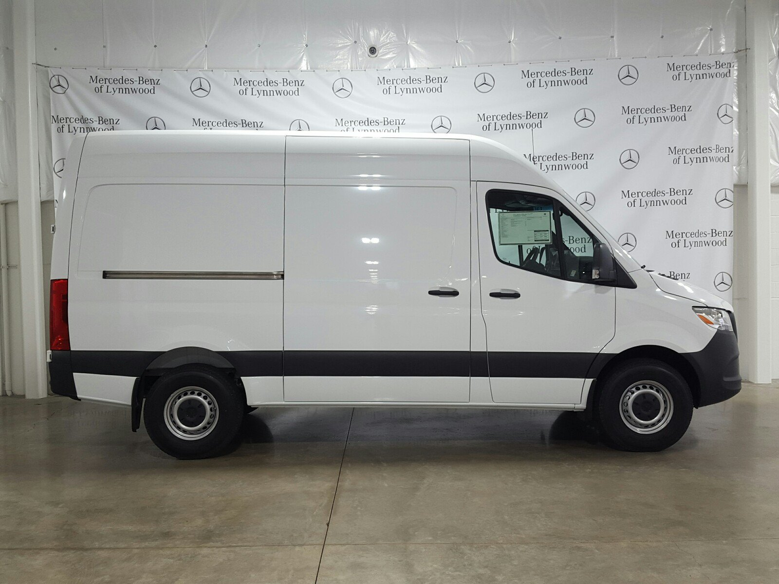 New 2019 Mercedes-Benz Sprinter Cargo Van 2500 High Roof 144 RWD