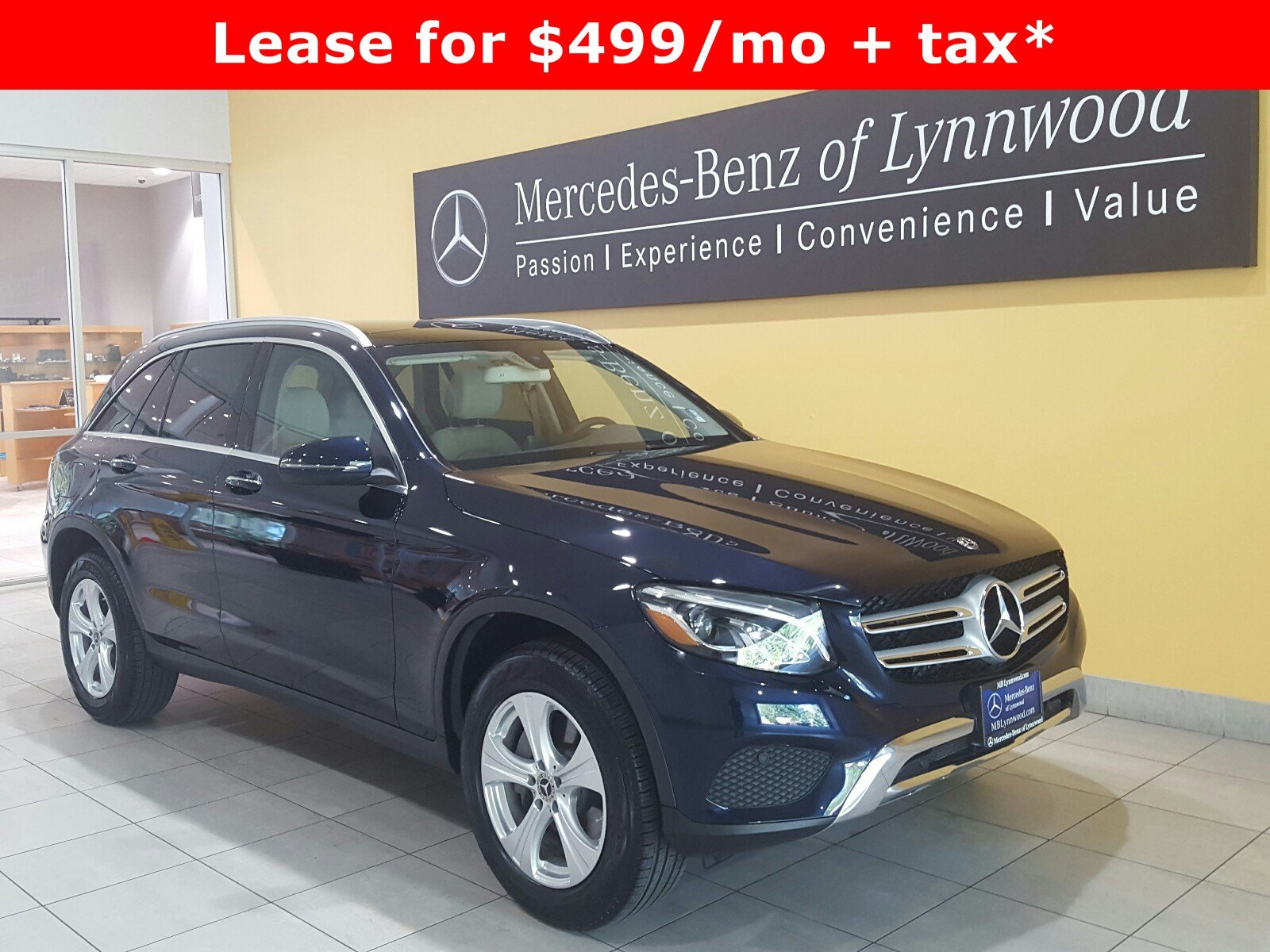 Certified pre owned 2018 mercedes benz glc glc 300 4matic for Mercedes benz cpo special offers