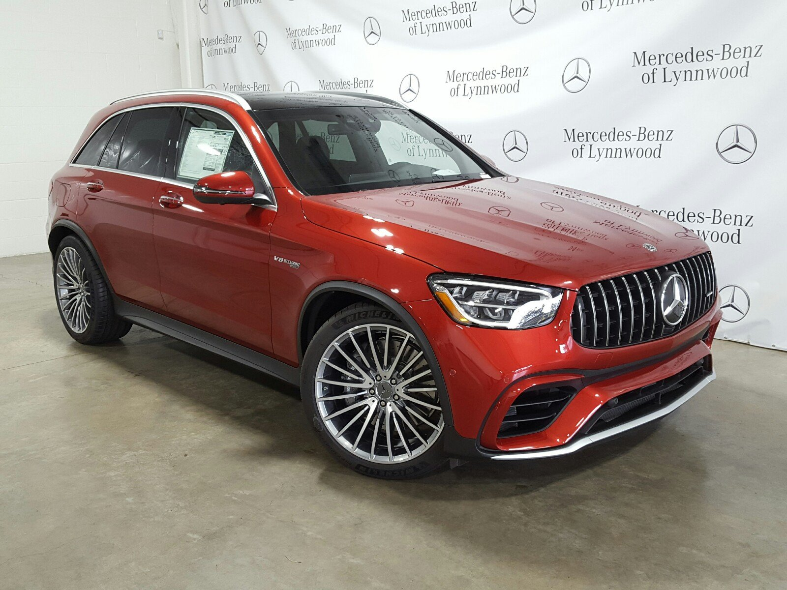 New 2020 Mercedes-Benz GLC AMG® GLC 63 4MATIC®