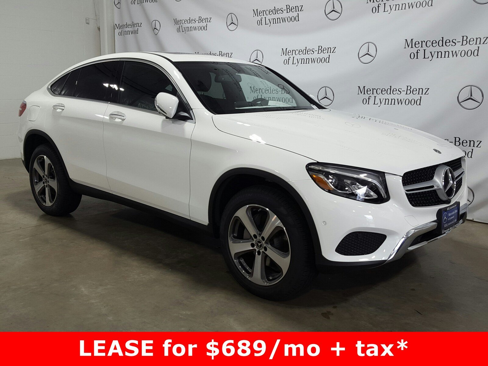 Pre Owned 2019 Mercedes Benz GLC GLC 300 4MATIC Coupe