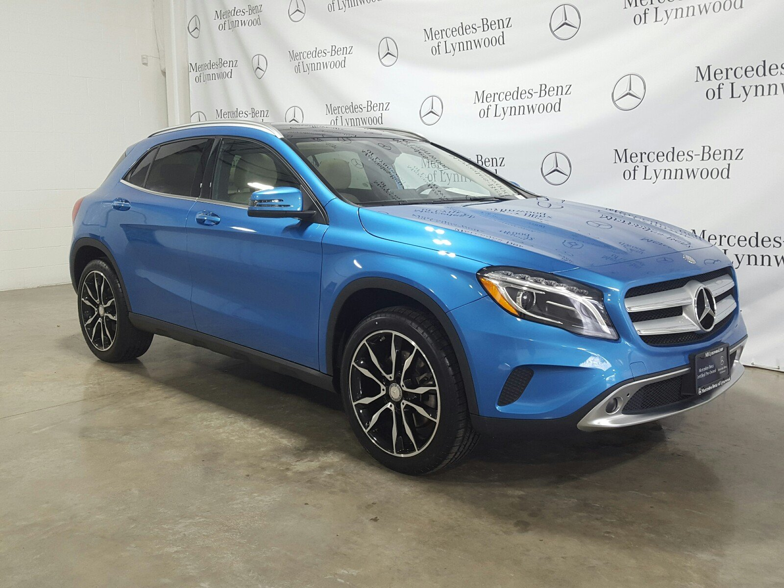 Certified Pre Owned 2016 Mercedes Benz GLA GLA 250 4MATIC SUV in