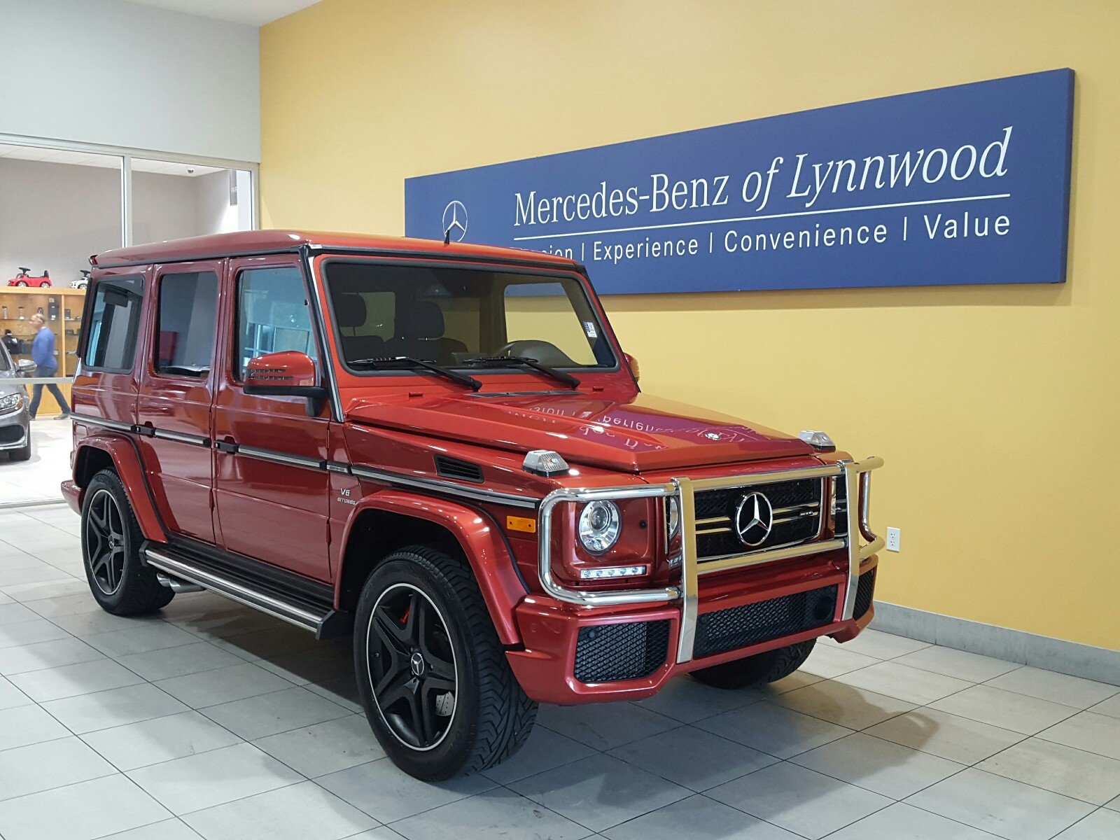 Certified pre owned 2016 mercedes benz g class amg g 63 for Pre owned mercedes benz g class
