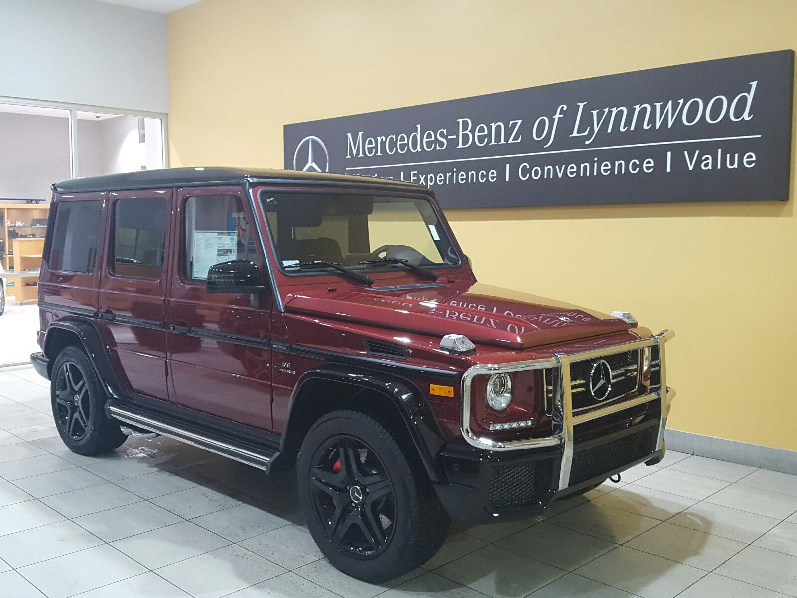 Pre owned 2018 mercedes benz g class amg g 63 4matic suv for Used g class mercedes benz