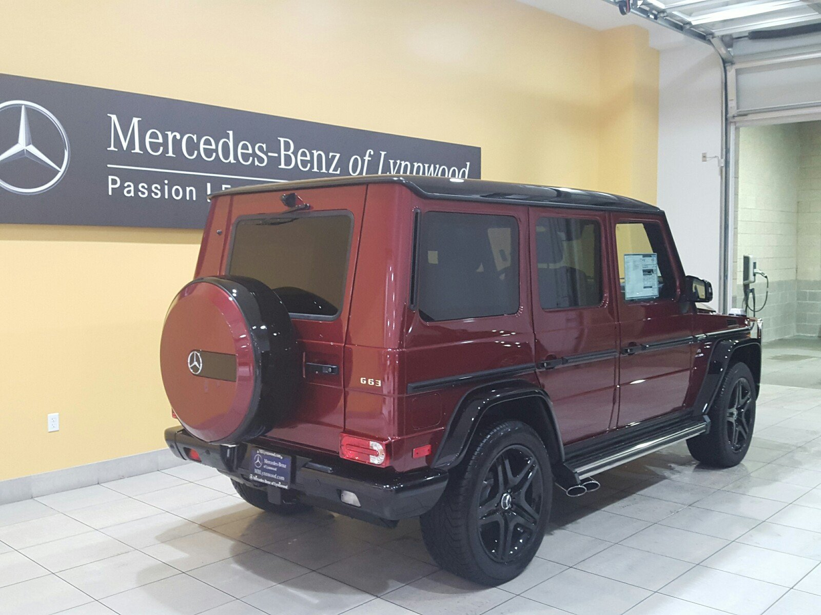 Pre Owned 2018 Mercedes Benz G Class AMG G 63 4MATIC SUV in