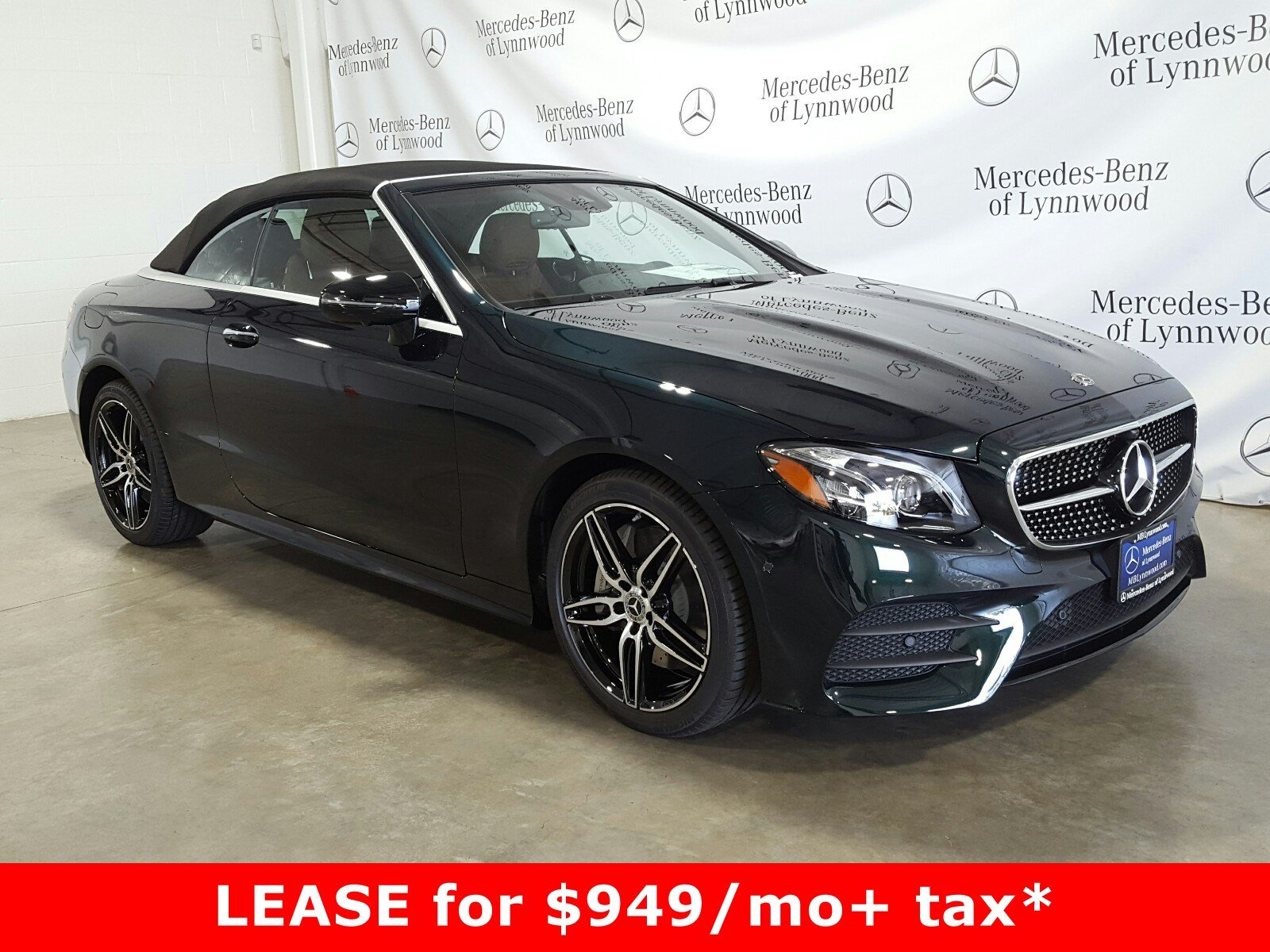 Pre-Owned 2019 Mercedes-Benz E-Class E 450 4MATIC® Cabriolet