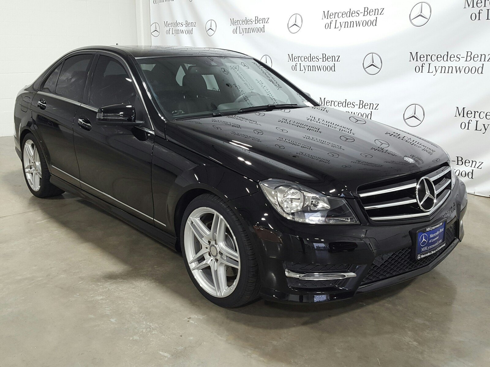 Certified Pre Owned 2014 Mercedes Benz C Class C 300 Sport 4MATIC®