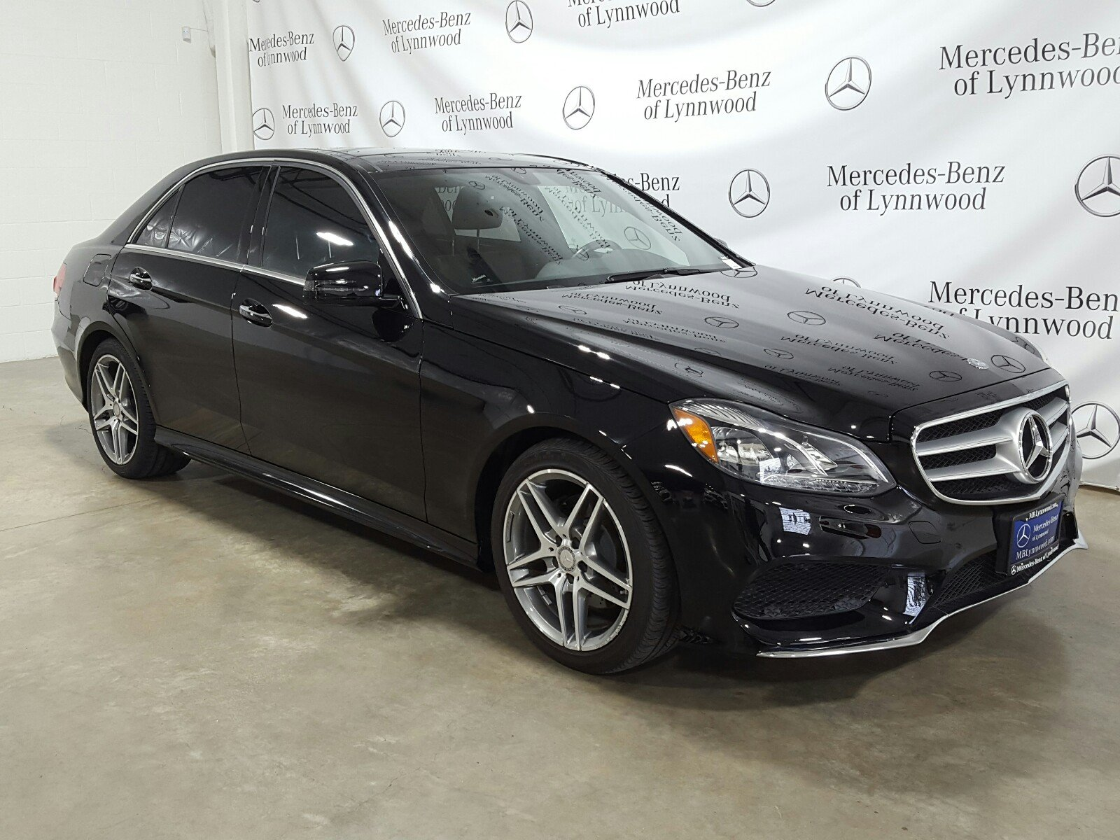 Certified Pre-Owned 2015 Mercedes-Benz E-Class E 350 Sport RWD