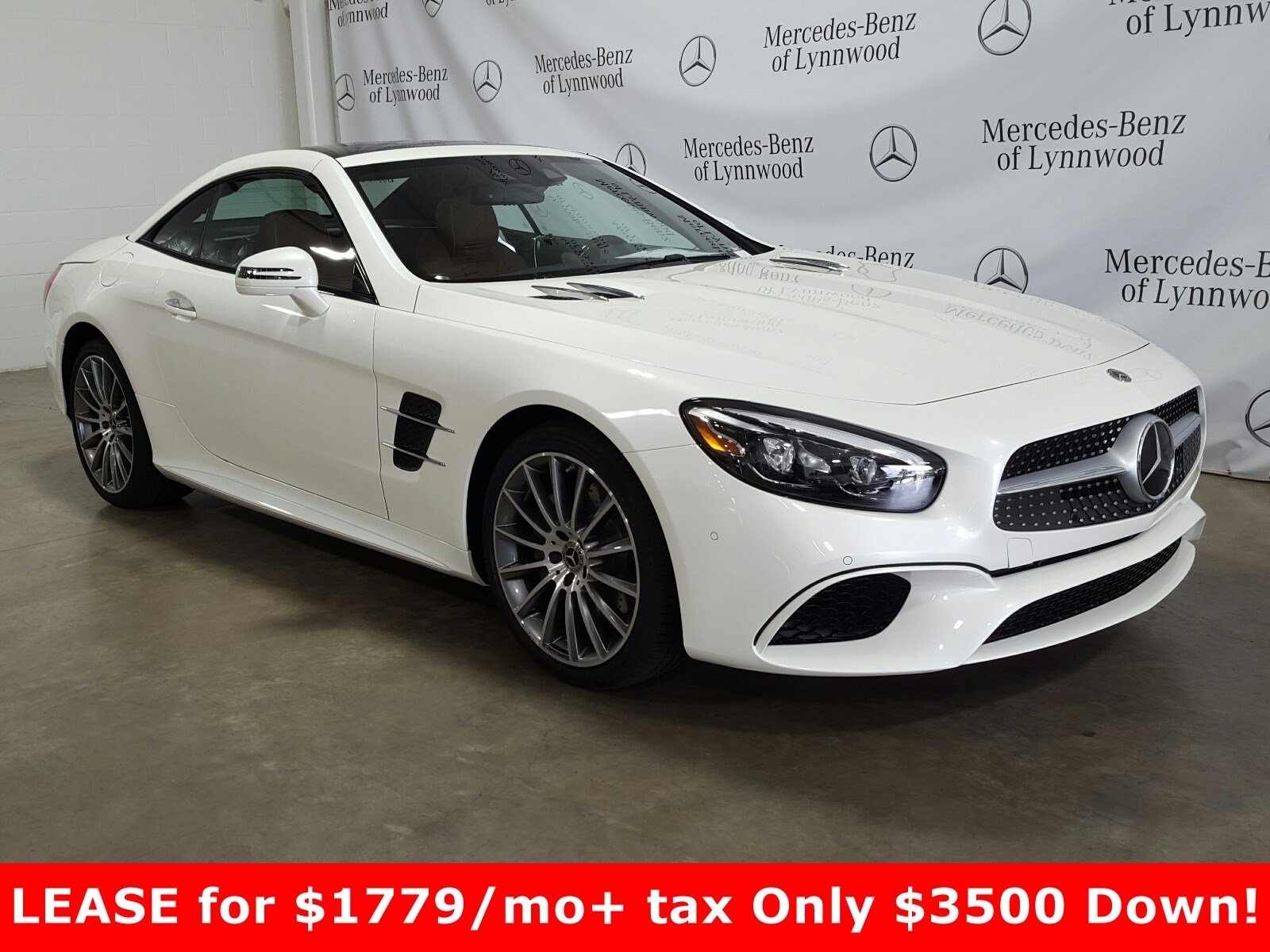 Pre-Owned 2019 Mercedes-Benz SL SL 550 Roadster