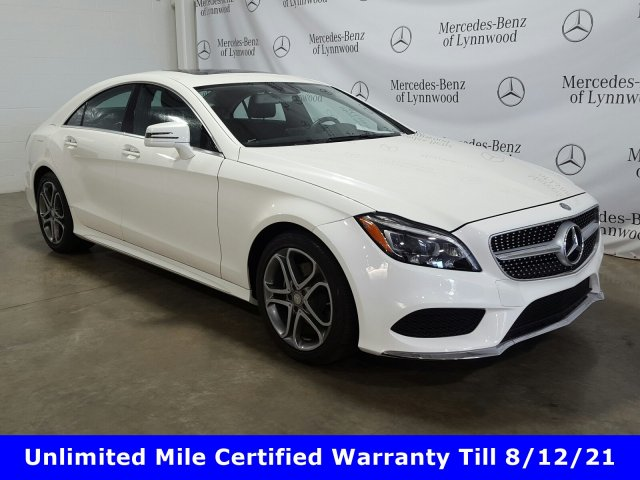 Certified Pre-Owned 2016 Mercedes-Benz CLS CLS 400 4MATIC®