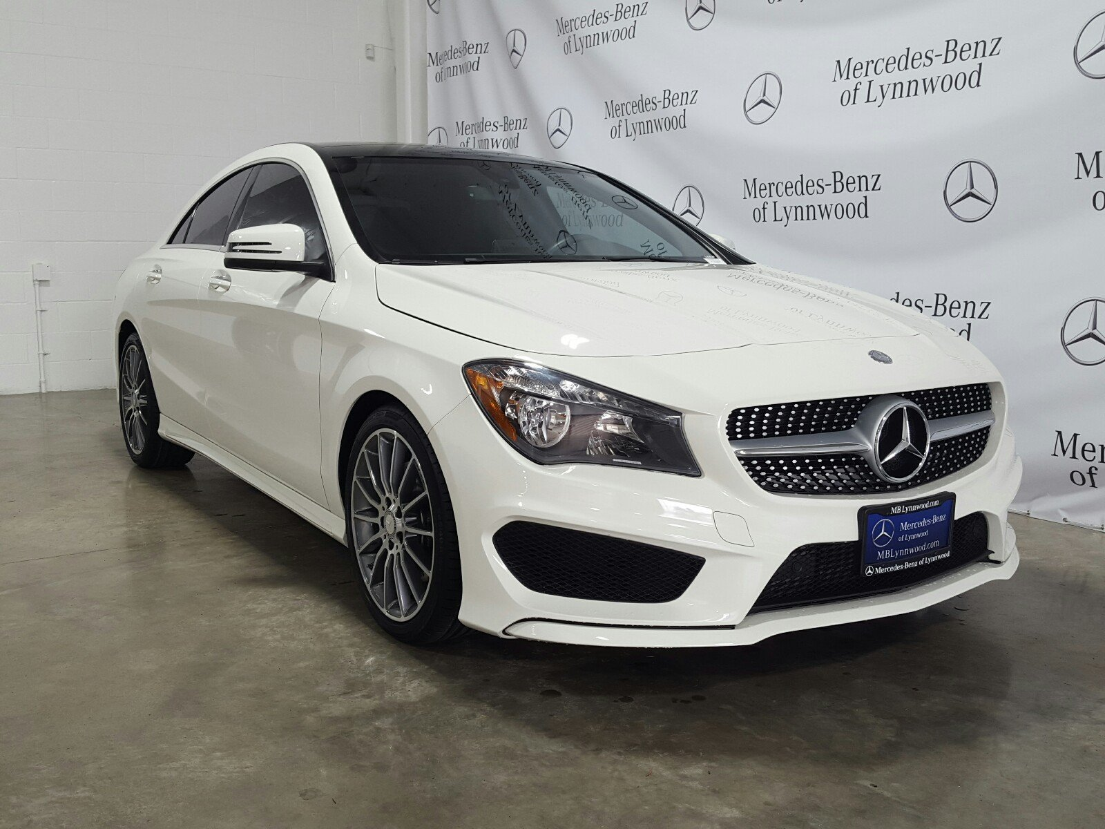 Certified Pre Owned 2016 Mercedes Benz CLA CLA 250 4MATIC Coupe in