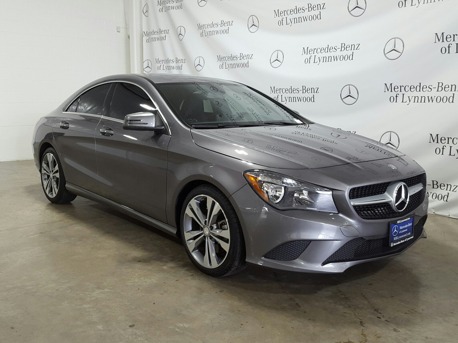 Certified Pre Owned 2016 Mercedes Benz Cla 250 4matic