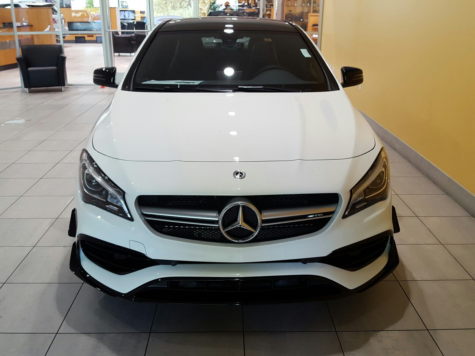 Pre owned 2018 mercedes benz cla amg cla 45 4matic coupe for Mercedes benz payment calculator