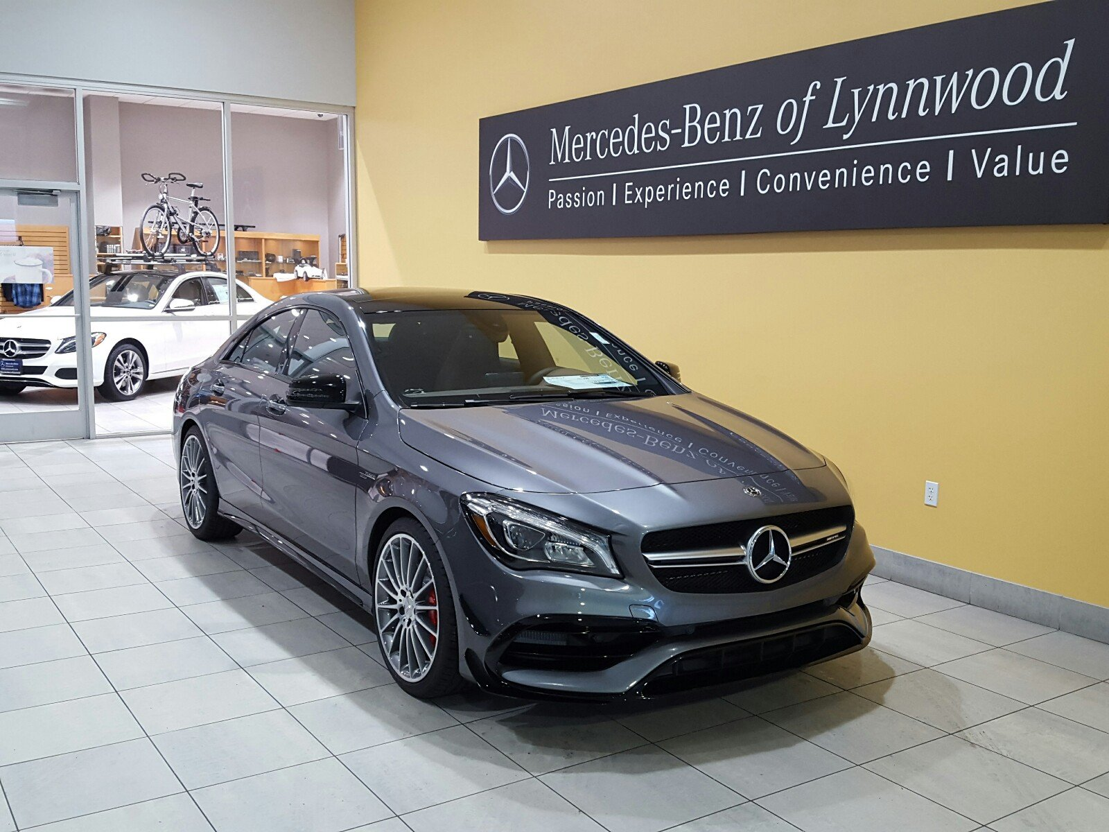 New 2018 mercedes benz cla amg cla 45 4matic coupe coupe for What is the maintenance cost for mercedes benz