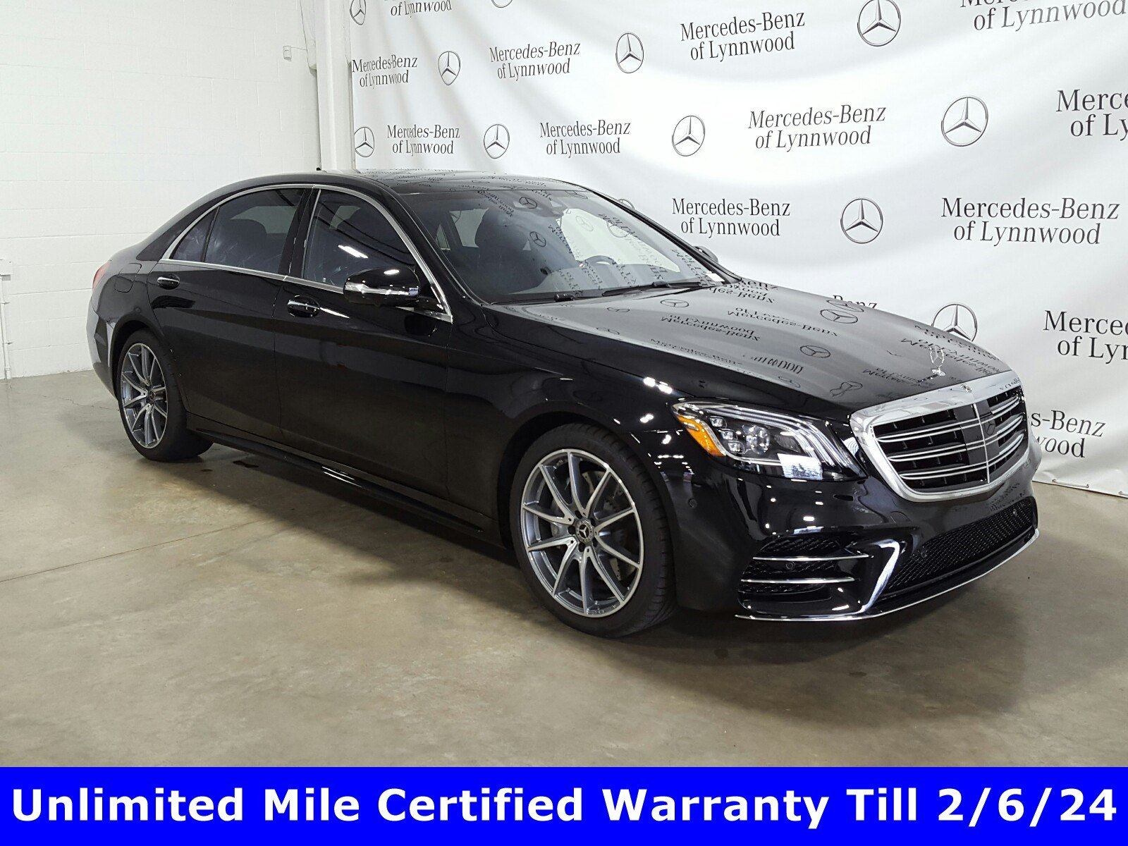 Certified Pre-Owned 2019 Mercedes-Benz S-Class S 560 4MATIC®