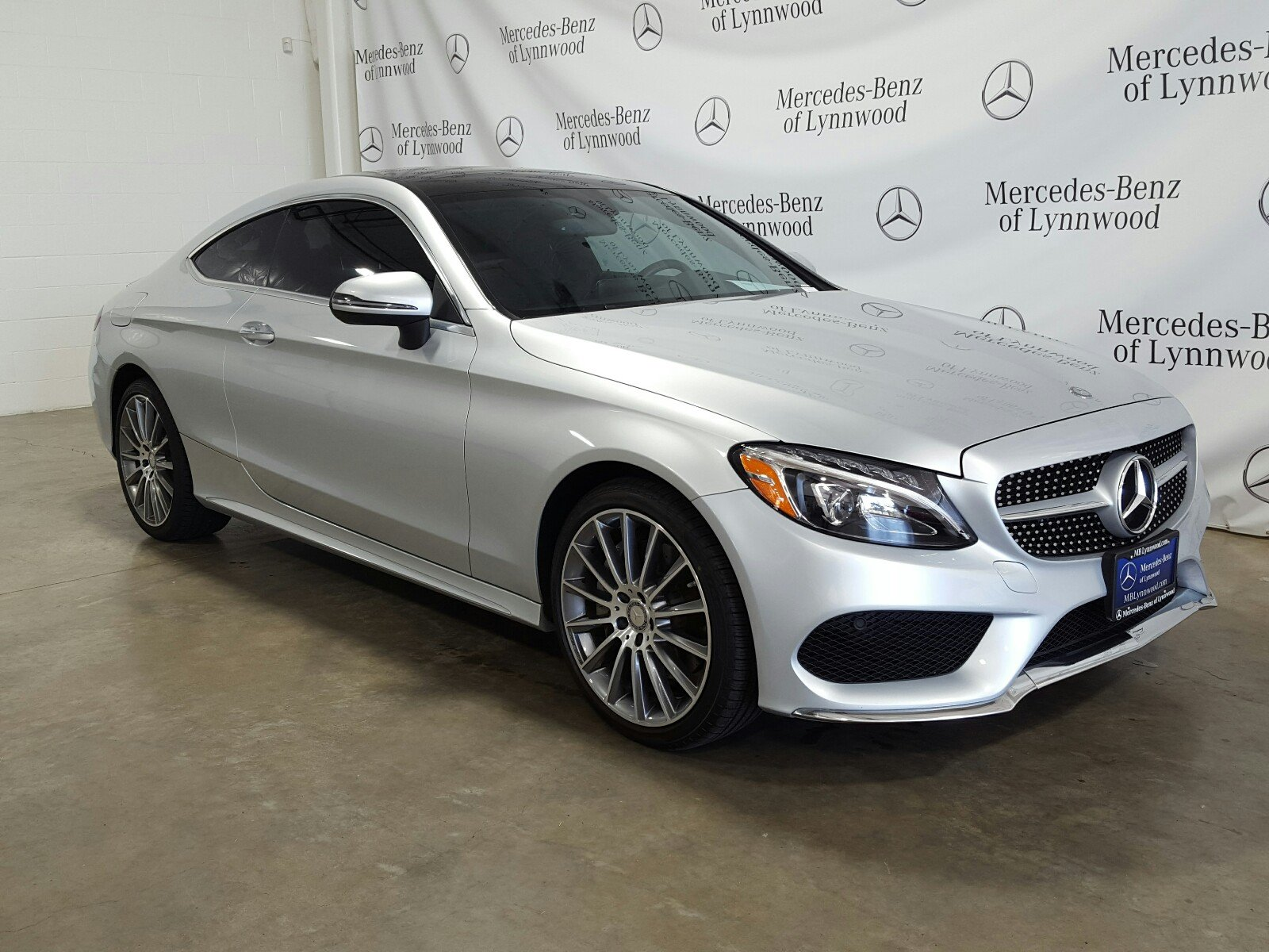 Certified Pre-Owned 2017 Mercedes-Benz C-Class C 300 Coupe 4MATIC®