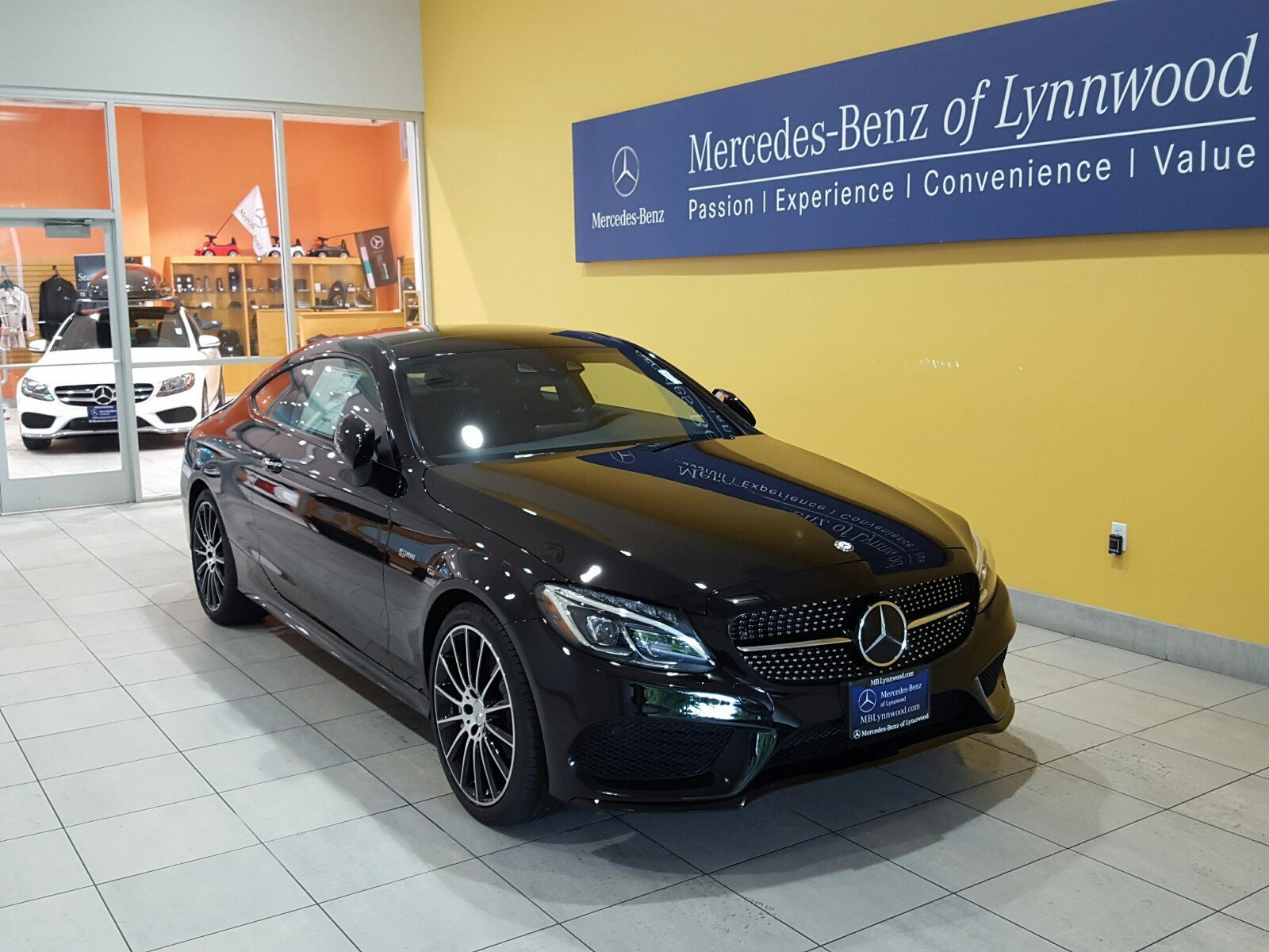 Pre owned 2017 mercedes benz c class amg c 43 4matic for Mercedes benz c class pre owned