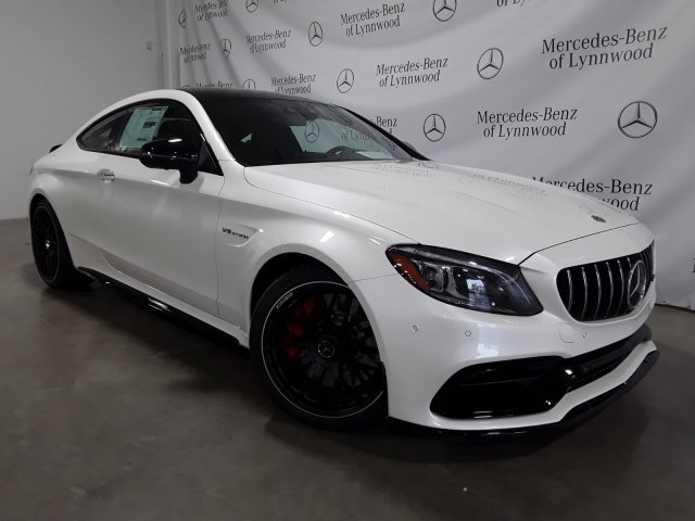 New 2019 Mercedes Benz C Class Amg C 63 S Coupe Coupe In Lynnwood