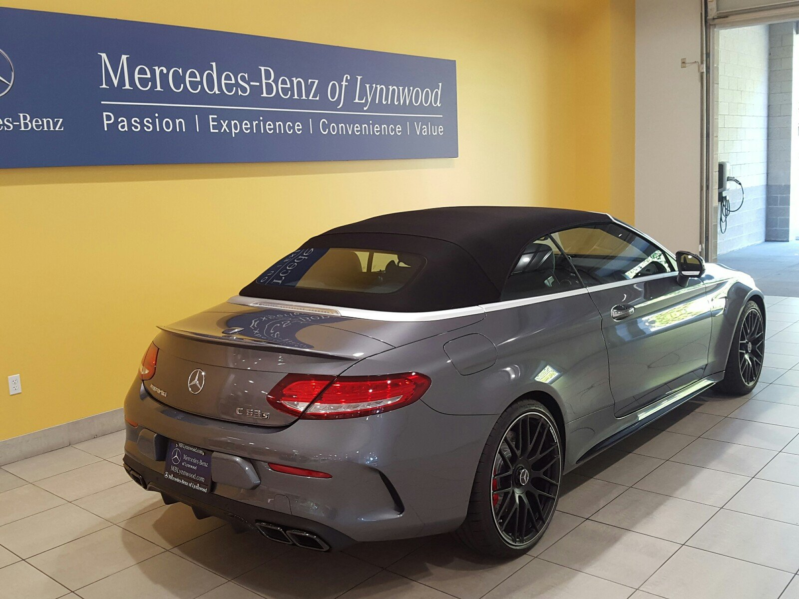 Pre owned 2018 mercedes benz c class amg c 63 s cabriolet for Mercedes benz c class pre owned