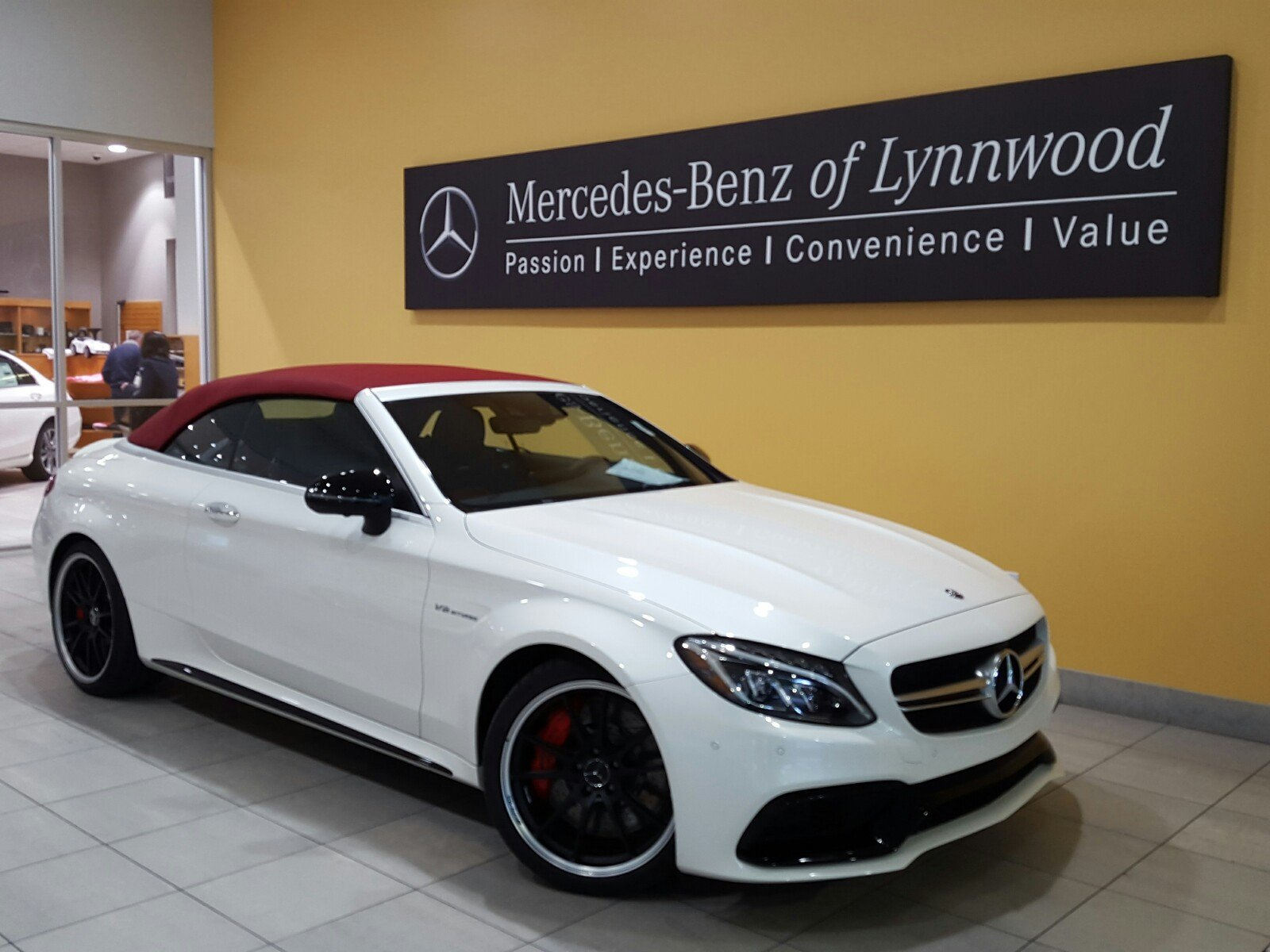 new 2018 mercedes benz c class amg c 63 s cabriolet convertible in lynnwood 28557 mercedes. Black Bedroom Furniture Sets. Home Design Ideas