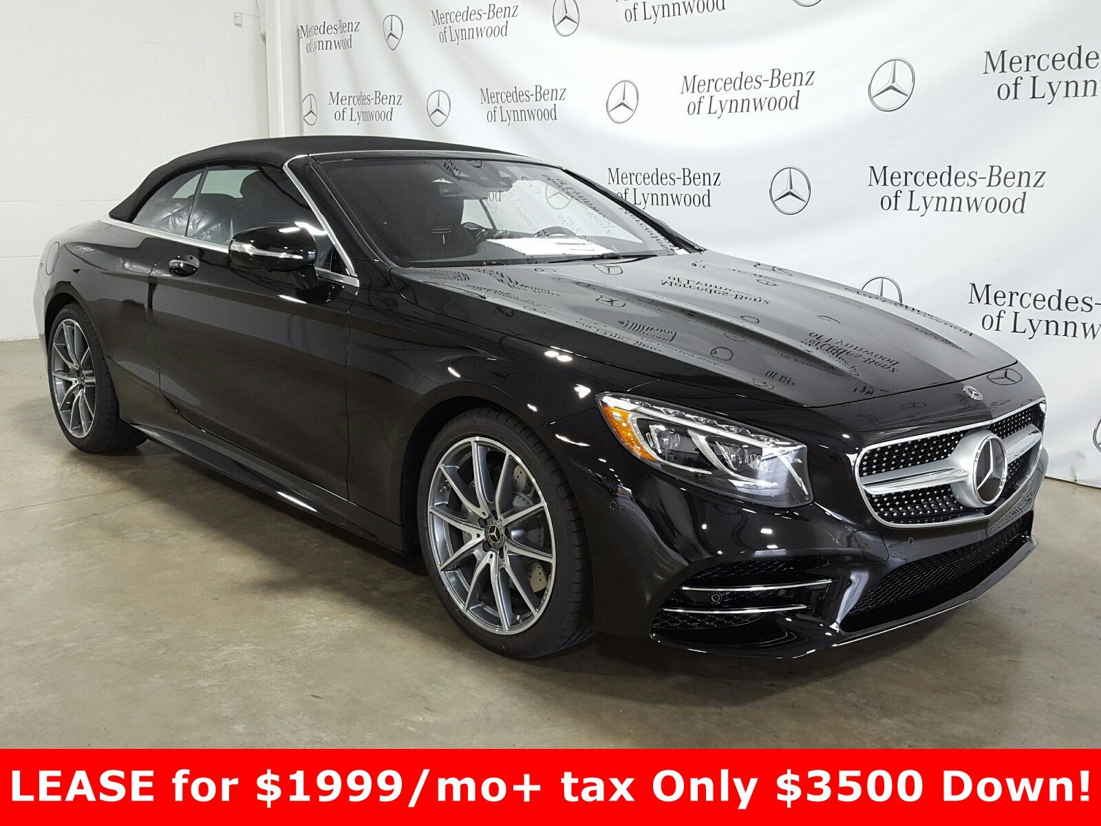 Pre-Owned 2019 Mercedes-Benz S-Class S 560 Cabriolet