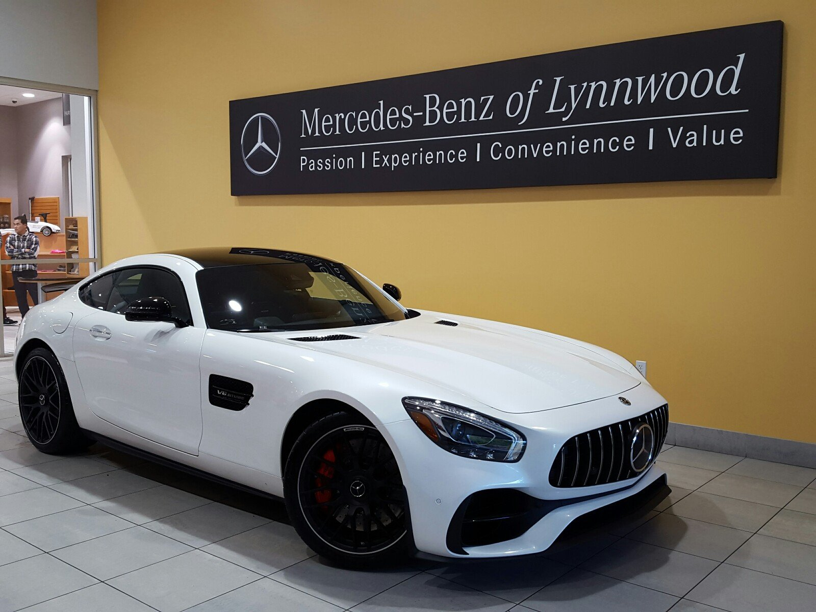 Pre owned 2018 mercedes benz amg gt amg gt s coupe in for Mercedes benz financial payment address