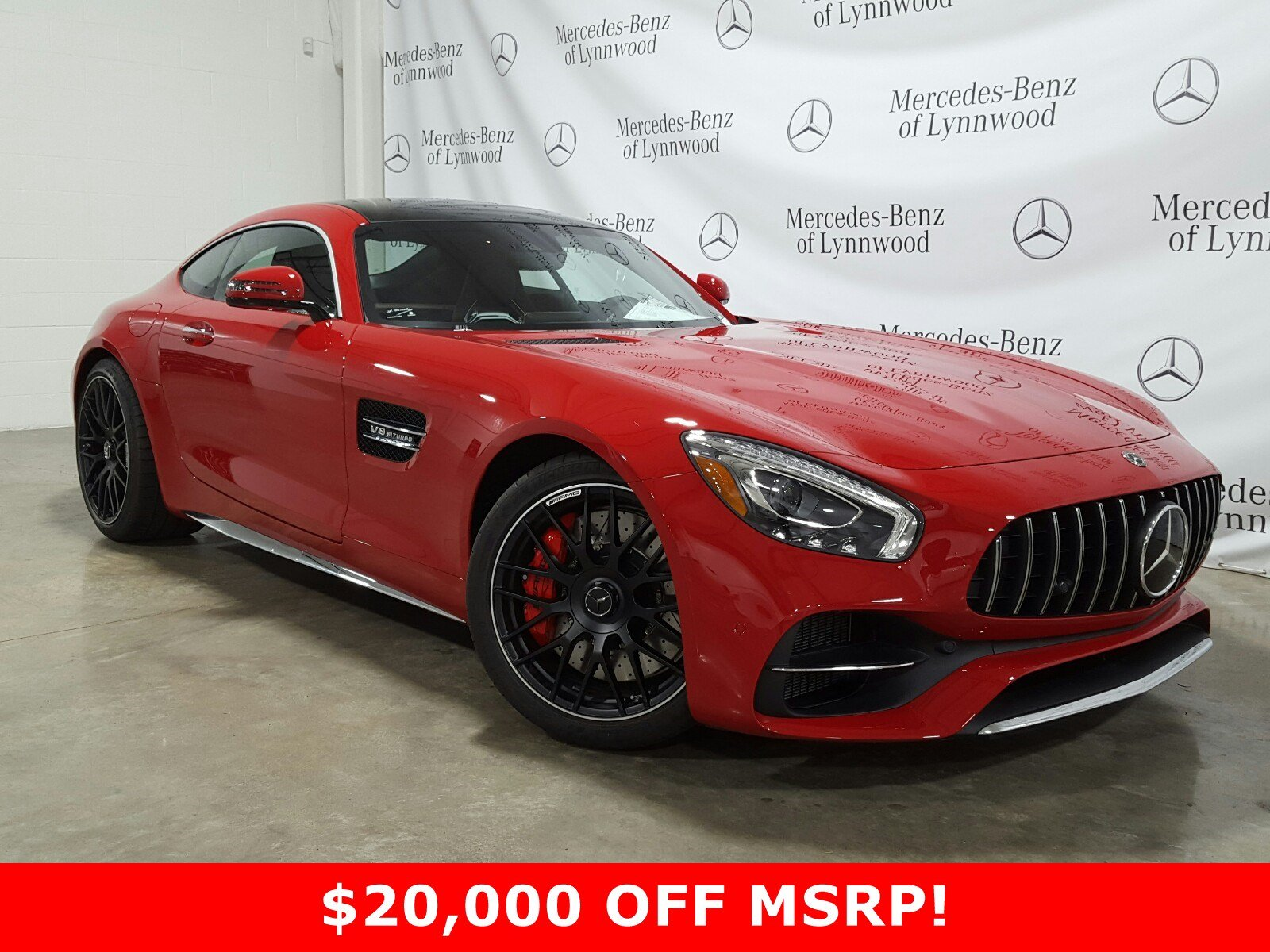 Pre-Owned 2019 Mercedes-Benz AMG® GT AMG® GT C Coupe