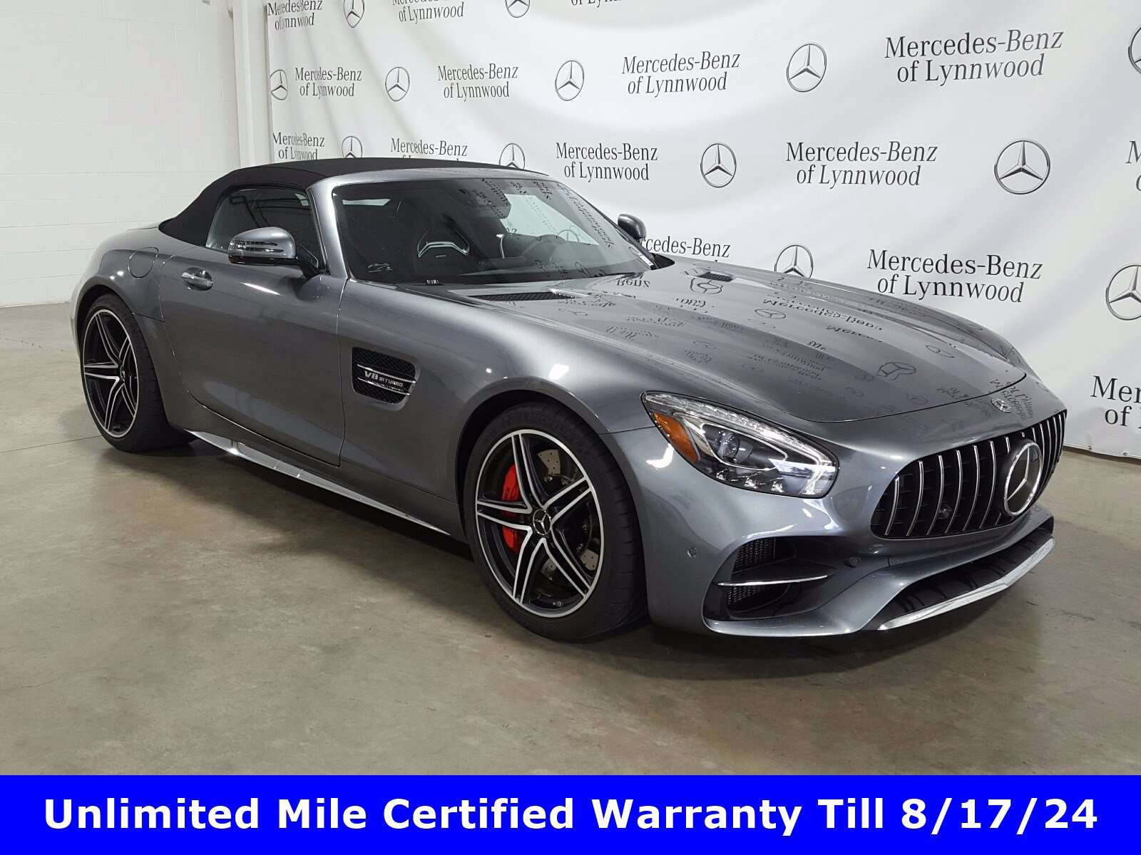 Certified Pre-Owned 2019 Mercedes-Benz AMG® GT AMG® GT C Roadster