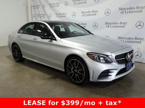 Certified Pre-Owned 2019 Mercedes-Benz C-Class C 300 4MATIC®