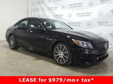Pre-Owned 2019 Mercedes-Benz C-Class AMG® C 63 Sedan