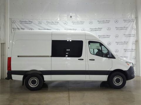 New 2019 Mercedes-Benz Sprinter Crew Van 2500 High Roof 144 RWD