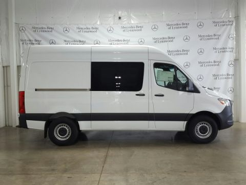 New 2019 Mercedes-Benz Sprinter Crew Van 2500 High Roof V6 144 RWD