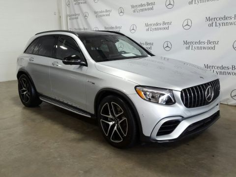 Certified Pre-Owned 2018 Mercedes-Benz GLC AMG® GLC 63 4MATIC®