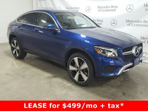 Pre-Owned 2019 Mercedes-Benz GLC GLC 300 4MATIC® Coupe