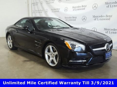 Certified Pre-Owned 2016 Mercedes-Benz SL SL 400 Roadster
