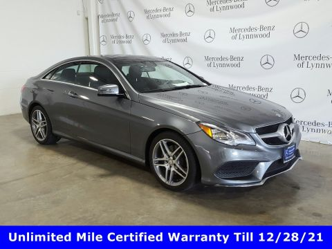 Pre-Owned 2017 Mercedes-Benz E-Class E 400 4MATIC® Coupe